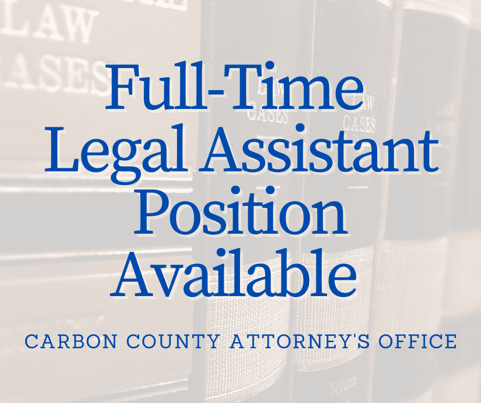 Full-Time Legal Assistant Position Available